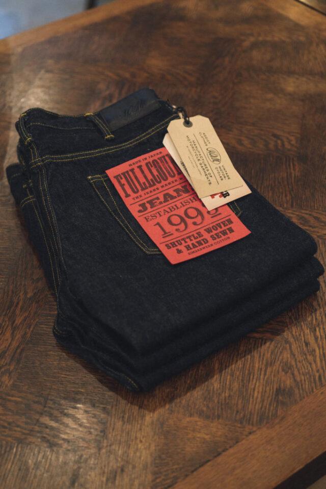 ADDICT CLOTHES JAPAN × FULLCOUNT ACV P01FC TIGHT TAPERED DENIM PANTS INDIGO