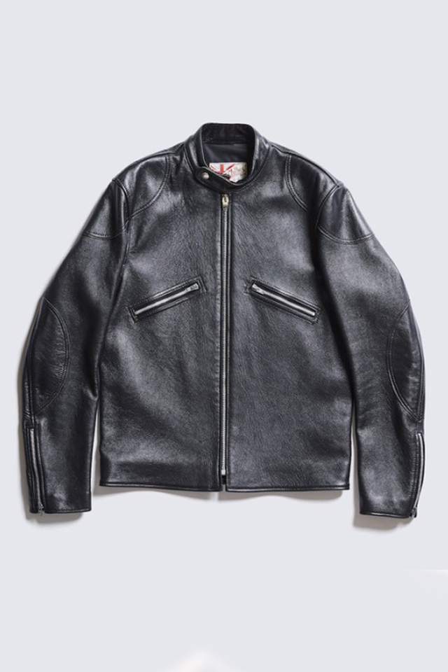 ADDICT CLOTHES JAPAN AD-05 CLUBMAN JACKET (SHEEP) BLACK