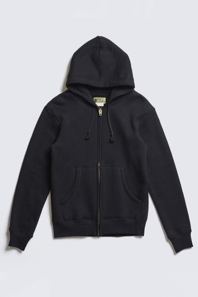 "ADDICT CLOTHES JAPAN ACVM HEAVY WEIGHT ZIP UP PARKA ""PRINT"" BLACK"