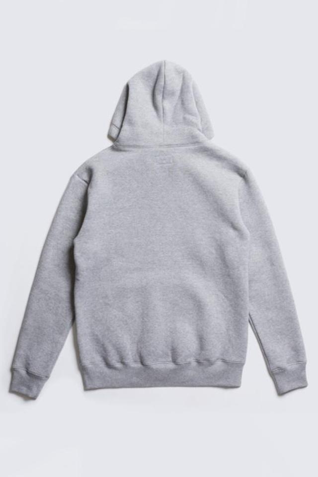 ADDICT CLOTHES JAPAN ACVM HEAVY WEIGHT ZIP UP PARKA L.GREY