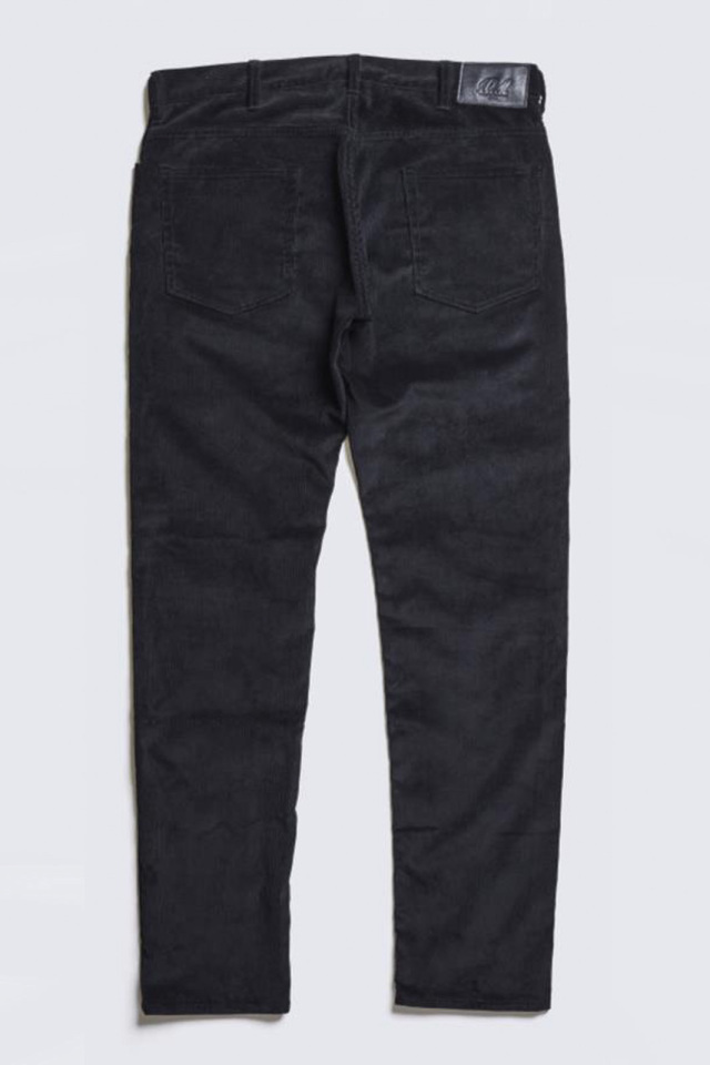 ADDICT CLOTHES JAPAN ACVM TIGHT TAPERED CORDUROY PANTS BLACK