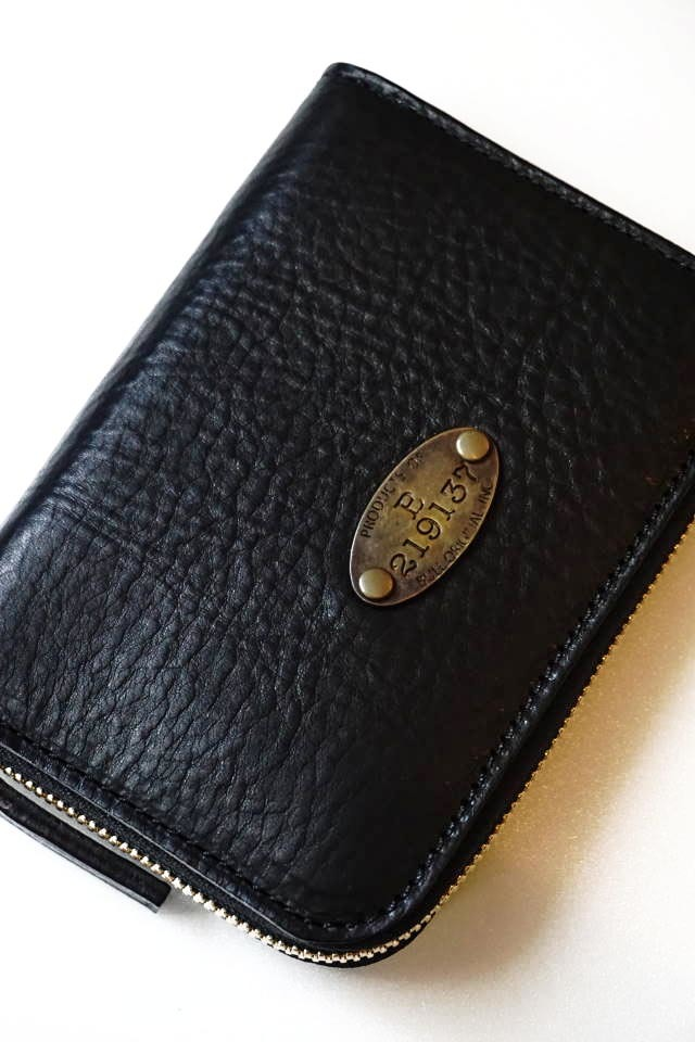 B.S.M.G. B.O. - Zip Wallet Short Plate BLACK