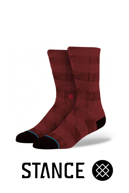 STANCE SOCKS BUSHWICK RED