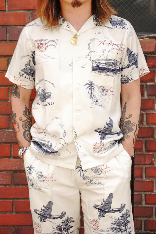 BY GLAD HAND POSTAL - S/S SHIRTS IVORY
