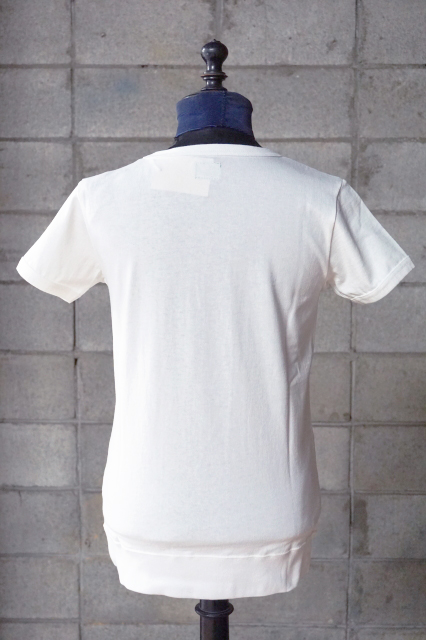 """Delinquent Bros """"ANCHOR""""RIB Tee WHITE"""