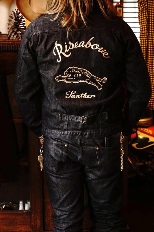 GANGSTERVILLE GREASER - JACKET BLACK