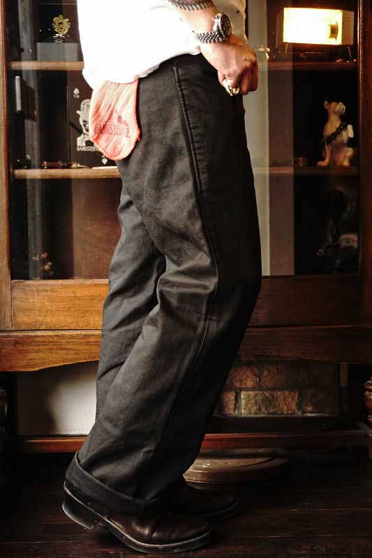 GANGSTERVILLE GREASER - PANTS BLACK