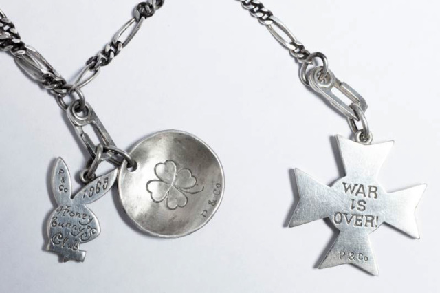 """Peanuts & Co. GOOD LIFE CHARM """"WAR IS OVER"""""""