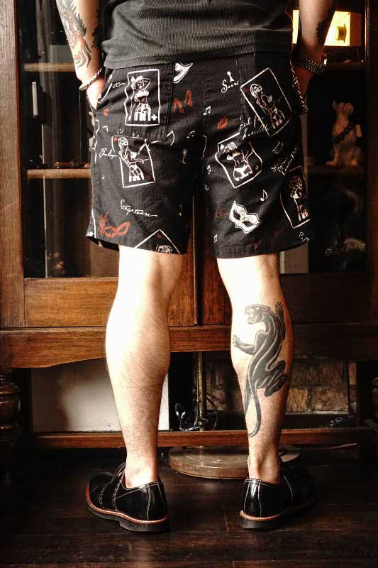 GANGSTERVILLE THUG QUEEN - SHORTS BLACK
