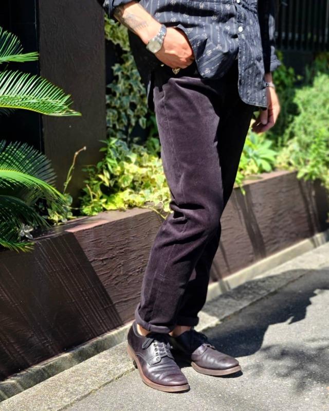 GANGSTERVILLE THUG - SKINNY STRETCH PANTS BLACK