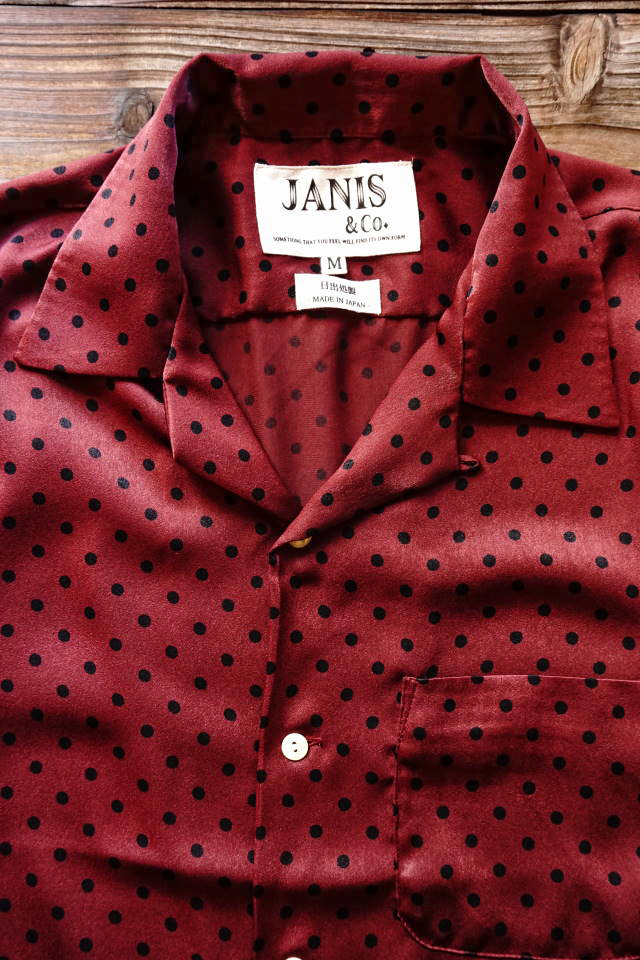 JANIS & Co. DIYANA BURGUNDY