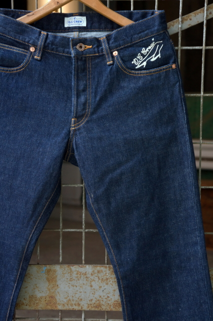 "O.C CREW ""FERNS"" SLIM STRAIGHT DENIM"
