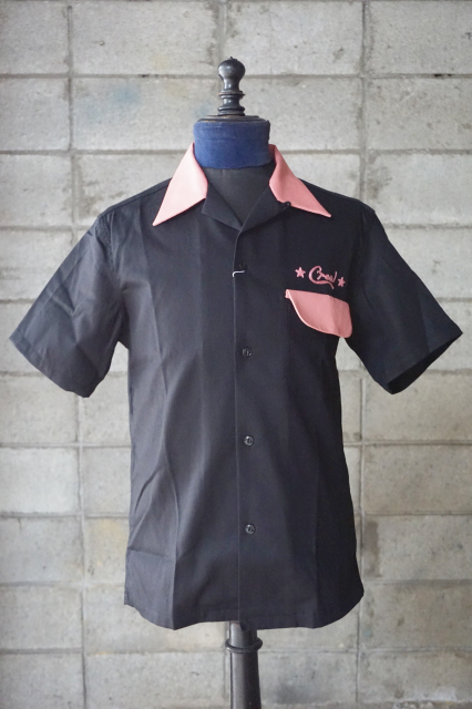 "O.C CREW ""SVG""2TONE OPEN SHIRTS"