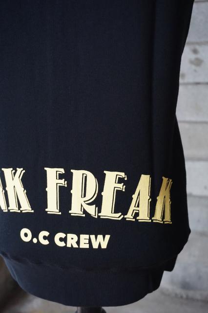"O.C CREW ""INK FREAK""CUT OFF PARKA"