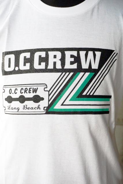 """O.C CREW """"RAZOR""""Tee WHITE"""