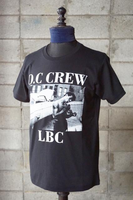 "O.C CREW ""DAMN""Tee BLACK"