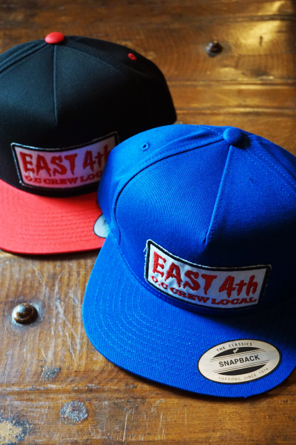 "O.C CREW ""EAST 4th""COTTON SNAP BACK"