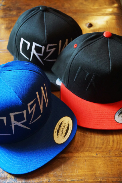 "O.C CREW ""CREW""COTTON SNAP BACK"
