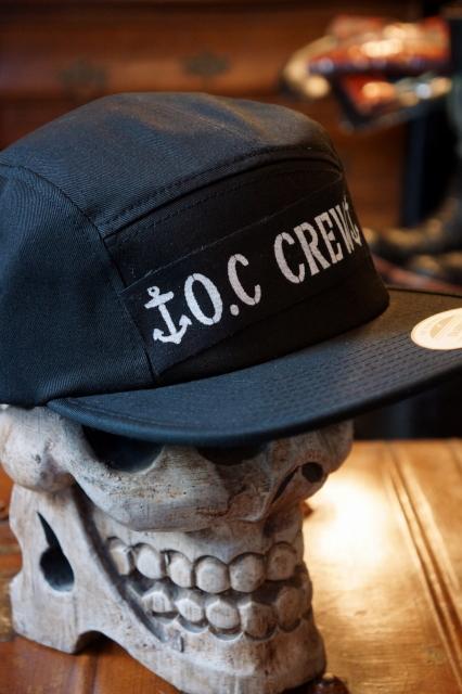 """O.C CREW """"JERRY"""" JET CAP BLACK"""