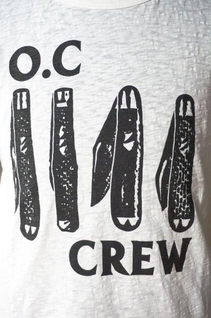 """O.C CREW """"NERVOUS""""Tee"""
