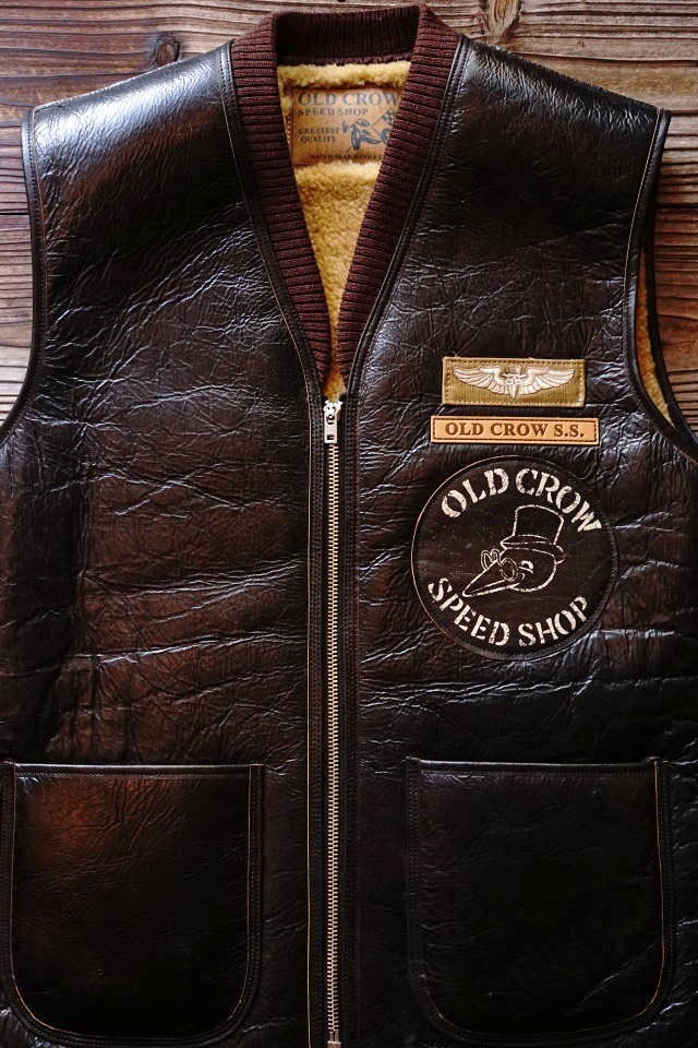 OLD CROW OLD B - VEST BLACK
