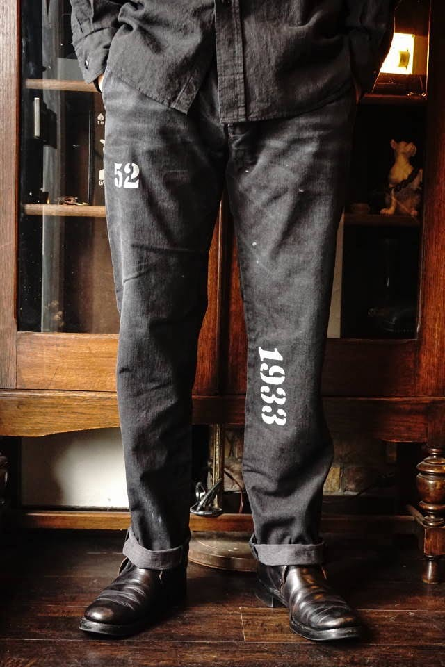OLD CROW OLD RODDER - CHINO PANTS BLACK