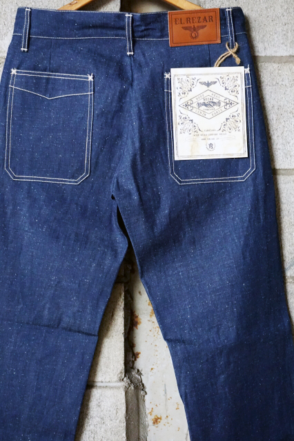 REZAR 5POCKET NEP DENIM PANTS
