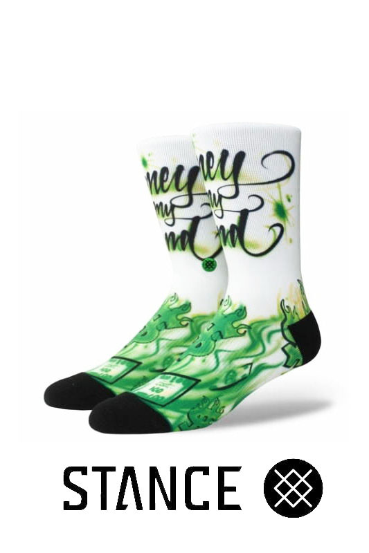 STANCE SOCKS Airbrush Money