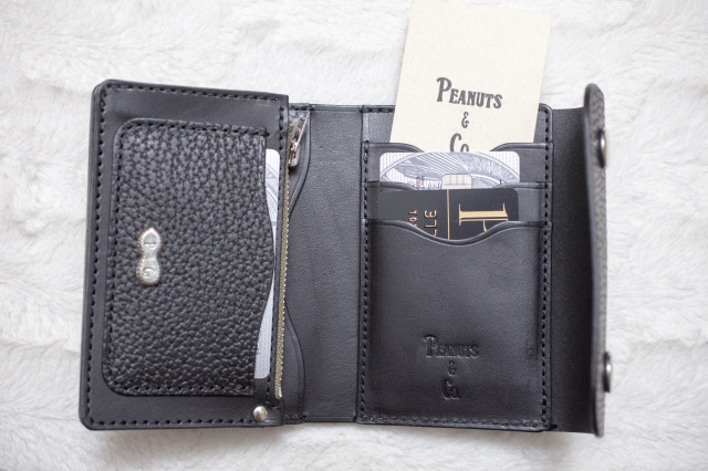 PEANUTS & Co. MIDDLE TRACKER WALLET