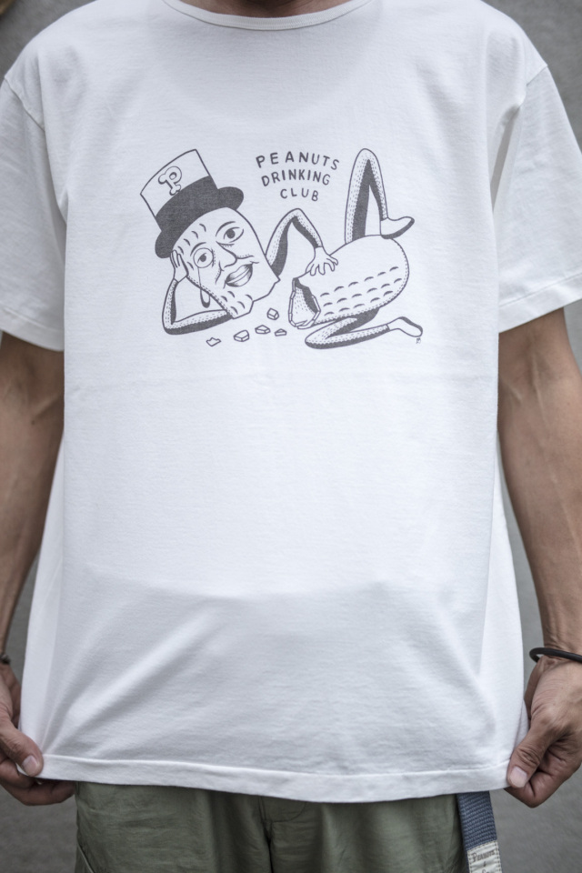 Peanuts & Co. PEANUTS D CLUB T-SHIRT WHITE