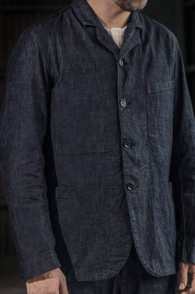 ADDICT CLOTHES JAPAN ACVM ACV-FC02 DENIM WORK JACKET
