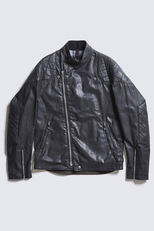 DDICT CLOTHES JAPAN ACVM ACV-WX01 WAXED COTTON RESISTANCE JACKET BLACK
