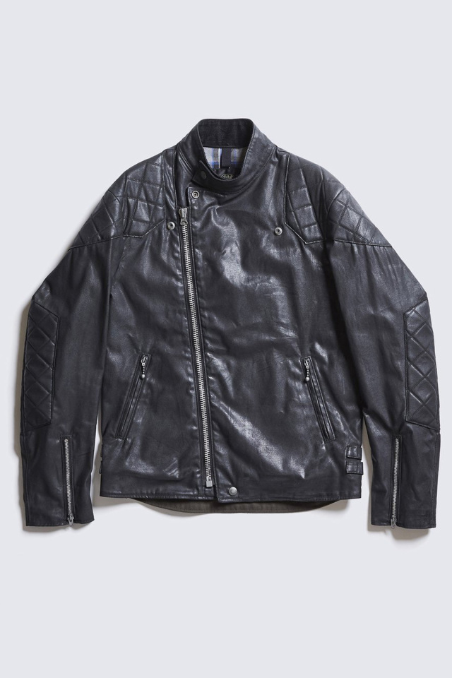 DDICT CLOTHES JAPAN ACVM ACV-WX01 WAXED COTTON RESISTANCE JACKET BLACK