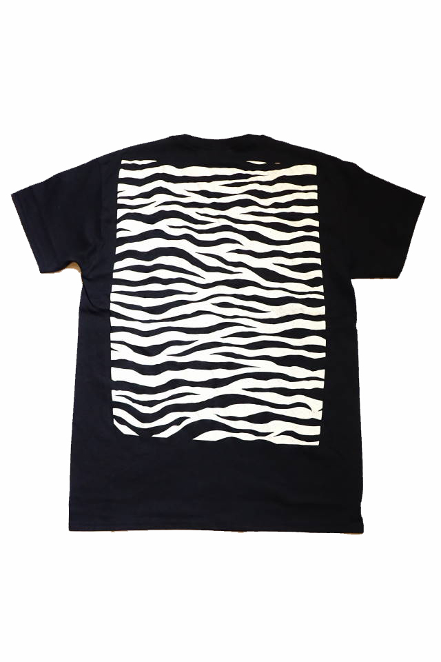 "BAA COSTUME MFG. ""ZEBRA BACK"" POCKET TEE BLACK/WHITE"