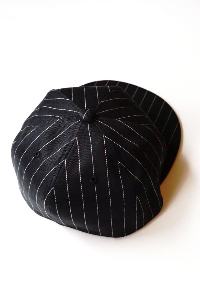 B.S.M.G. STRIPE BASEBALL - CAP BLACK
