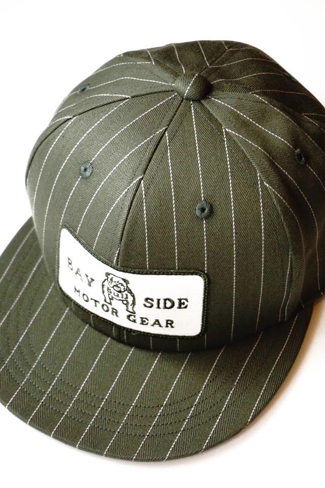 B.S.M.G. STRIPE BASEBALL - CAP KHAKI