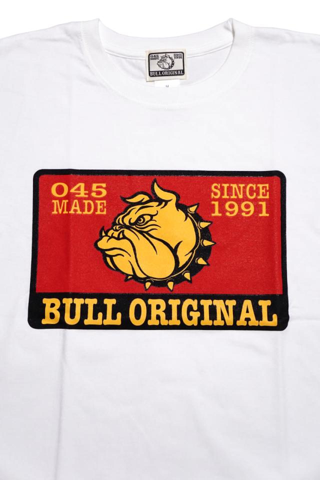 Bull Classics ANNIVERSARY Tsh WHITE