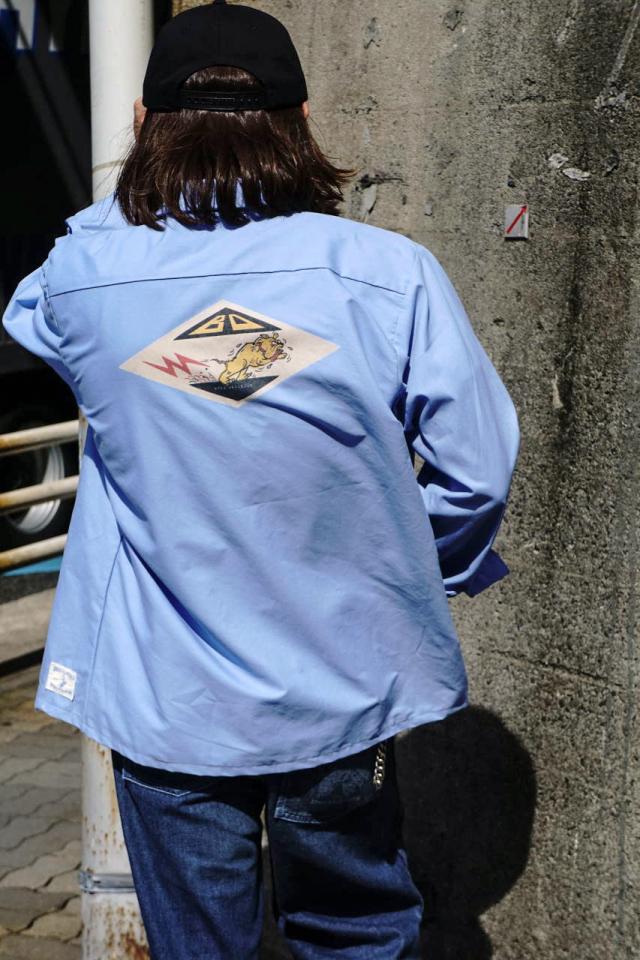 Bull Classics WORK SHIRTS L/S BLUE