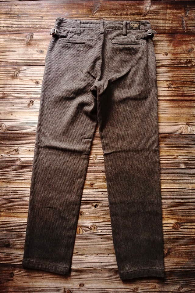 BY GLAD HAND MIGRANT - PANTS ※VINTAGE FINISH BLACK