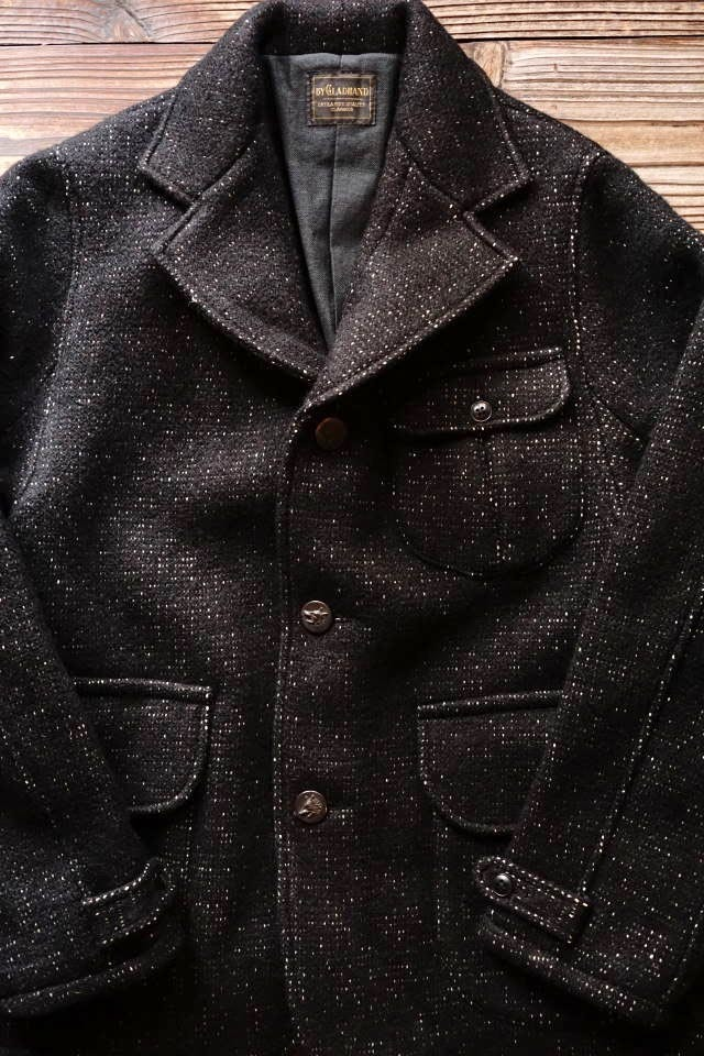 BY GLAD HAND FOWLER - HUNTING JACKET BLACK