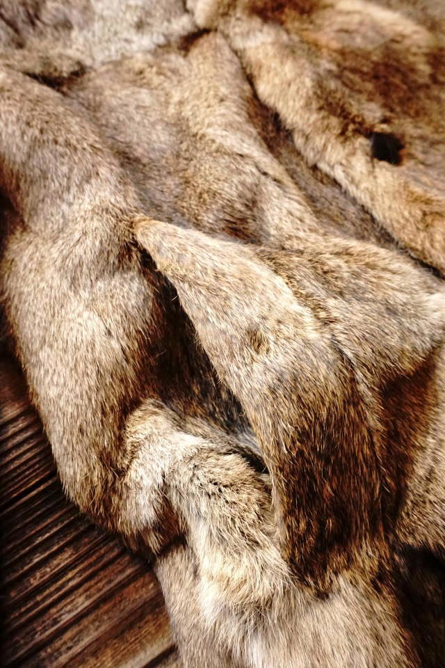 "BY GLAD HAND GOODGRACE ""RABBIT FUR"" BEIGE"
