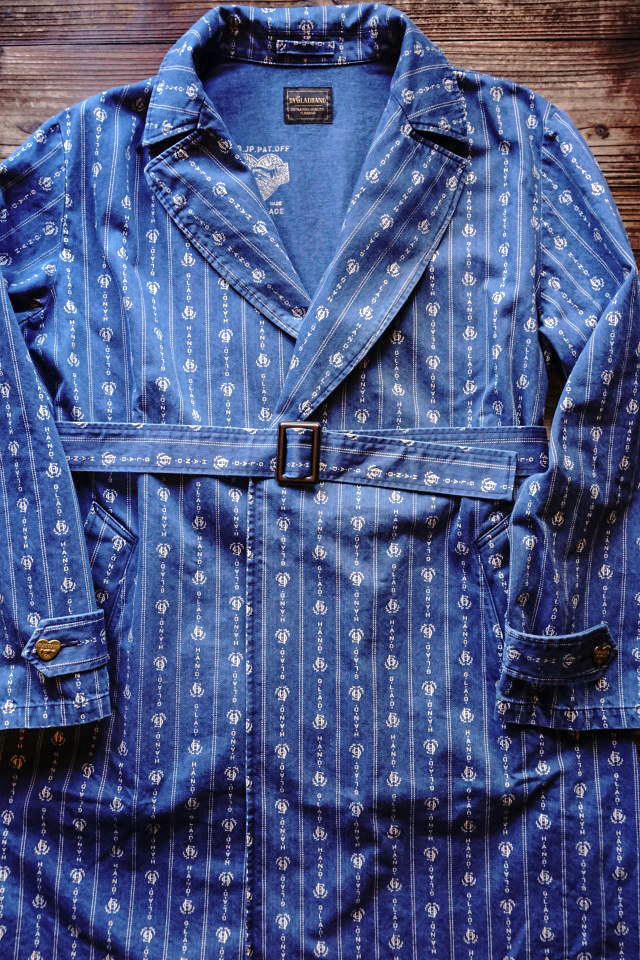 "BY GLAD HAND HEARTLAND - COAT INDIGO ""VINTAGE FINISH"""