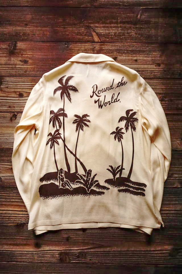 BY GLAD HAND ROUND THE WORLD - L/S SHIRTS IVORY