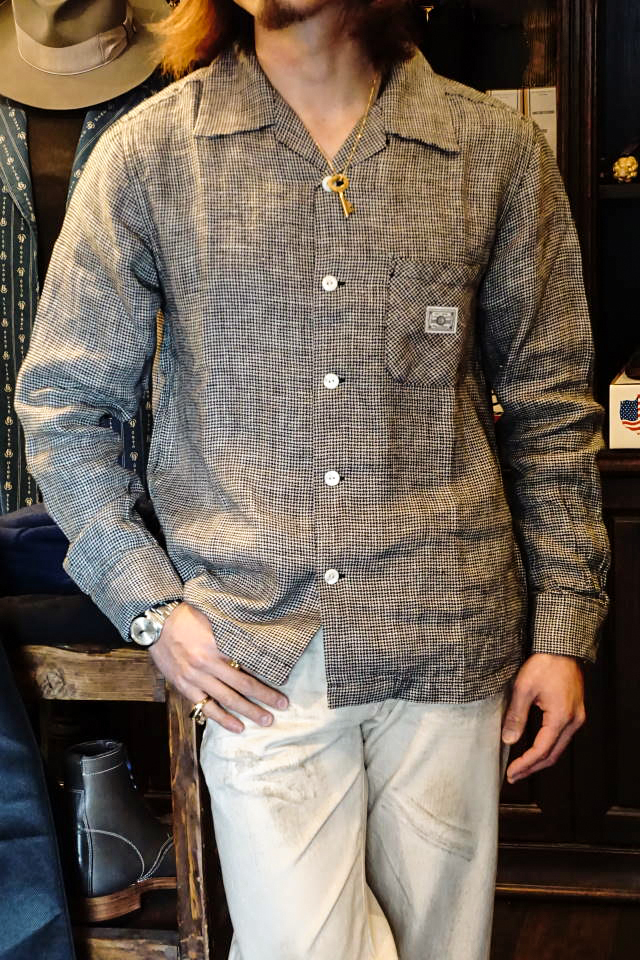 BY GLAD HAND LOUNGE - L/S SHIRTS IVORY