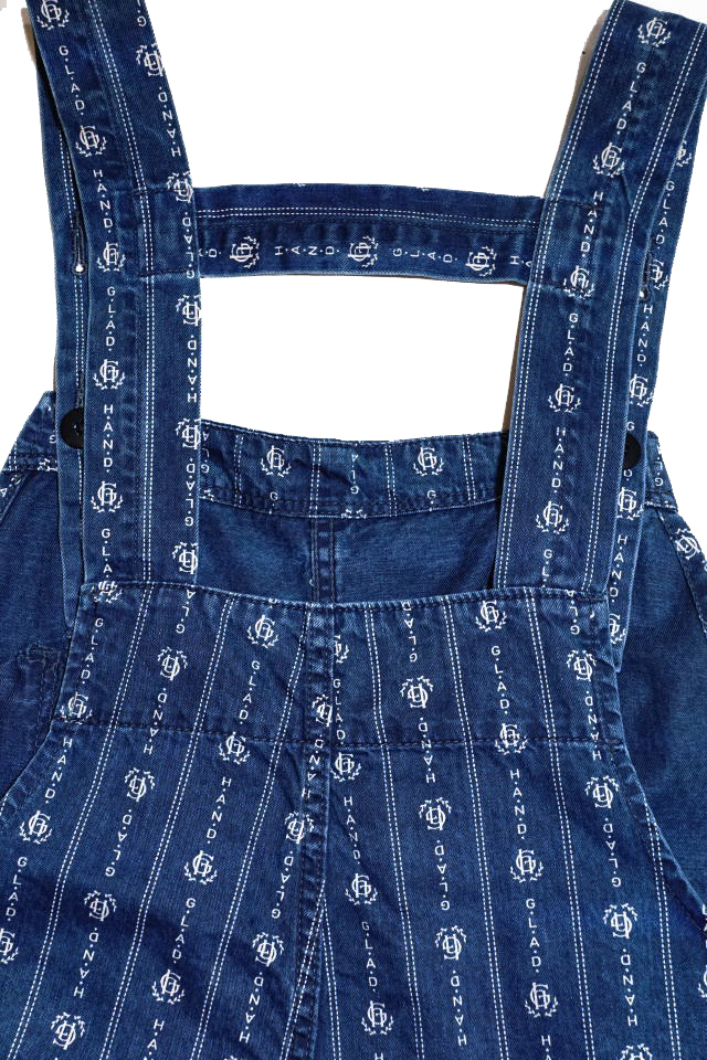 "BY GLAD HAND HEARTLAND - OVERALL INDIGO ""VINTAGE FINISH"""