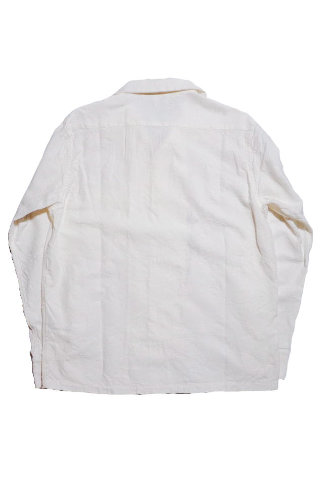 BY GLAD HAND VOYAGE - L/S SHIRTS WHITE