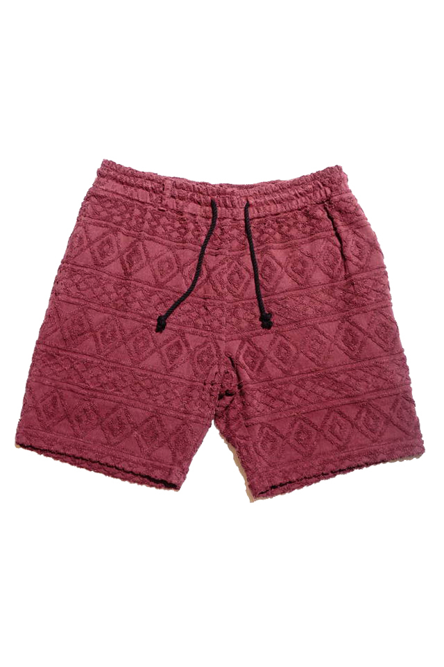 BY GLAD HAND ISLAND - SHORTS BURGUNDY