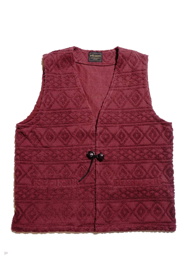 BY GLAD HAND ISLAND - VEST BURGUNDY