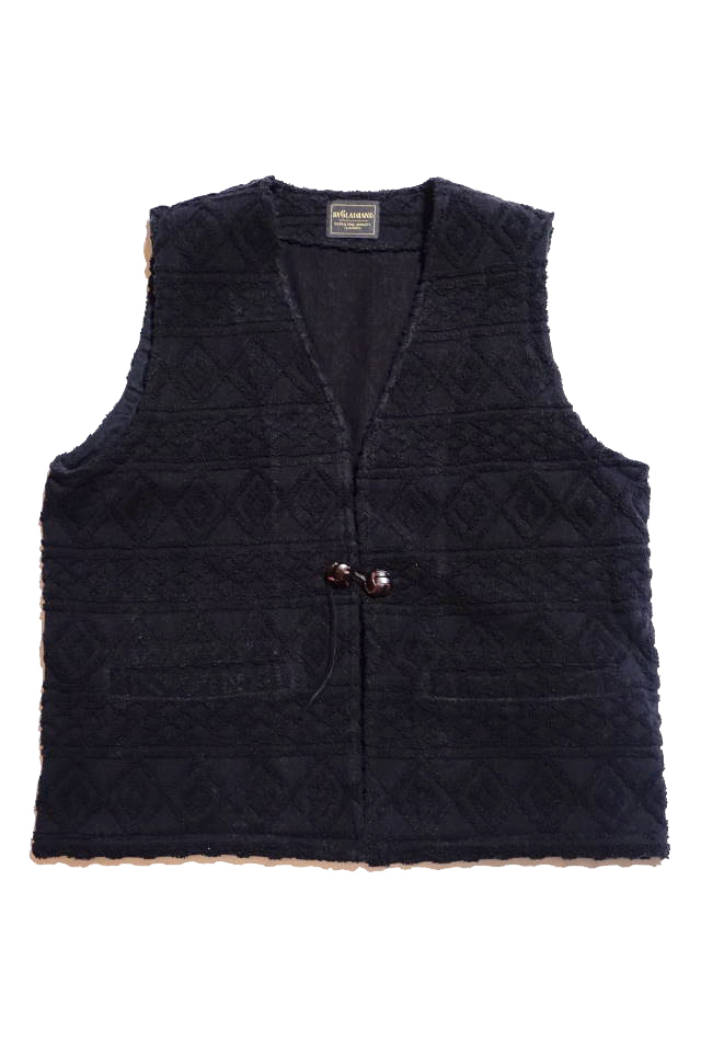 BY GLAD HAND ISLAND - VEST BLACK