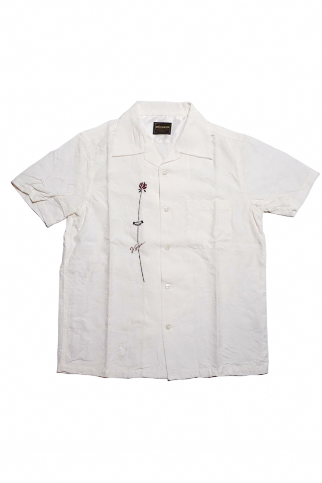 BY GLAD HAND VOYAGE - S/S SHIRTS WHITE